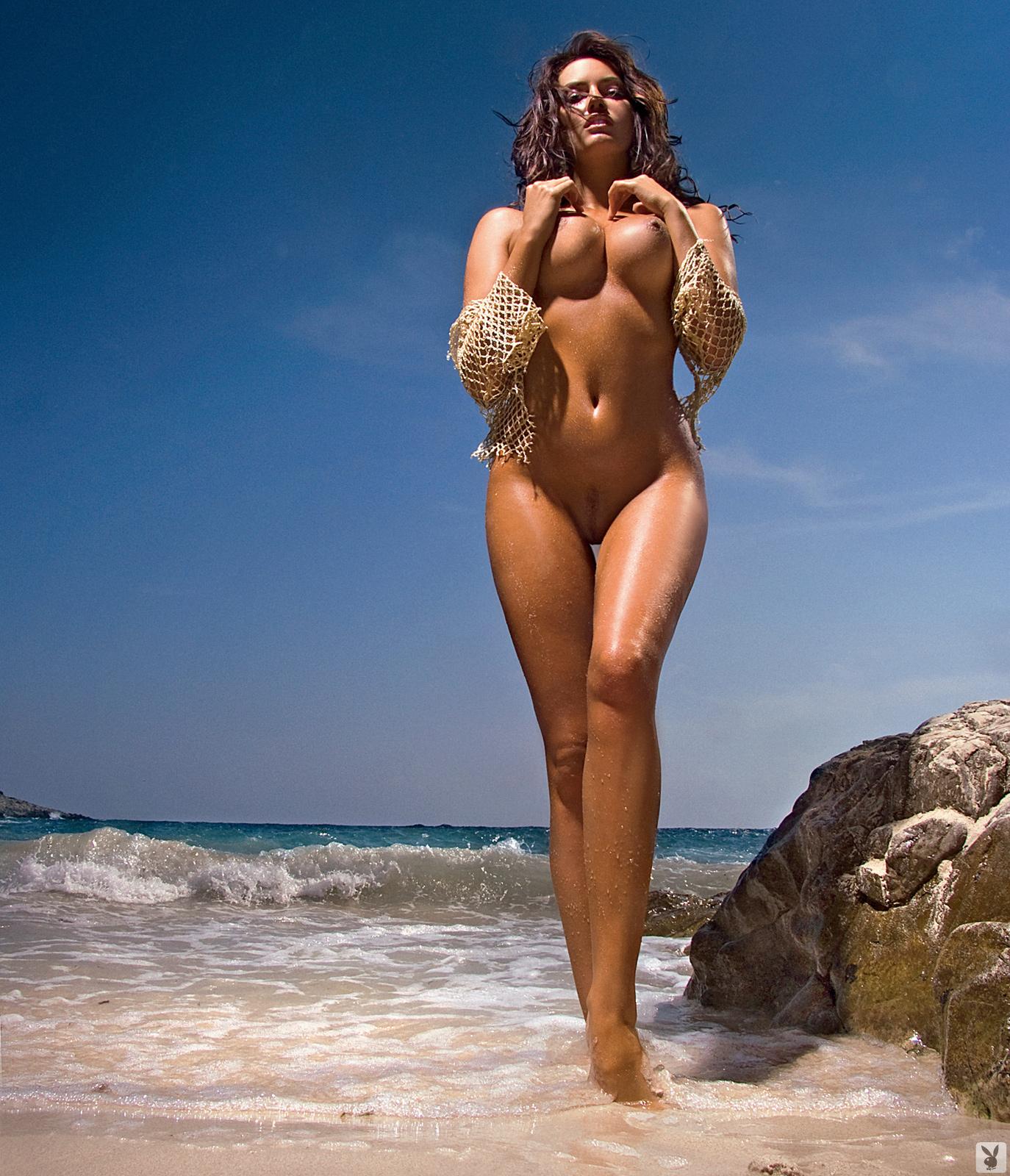 Качественная пляжная эротика