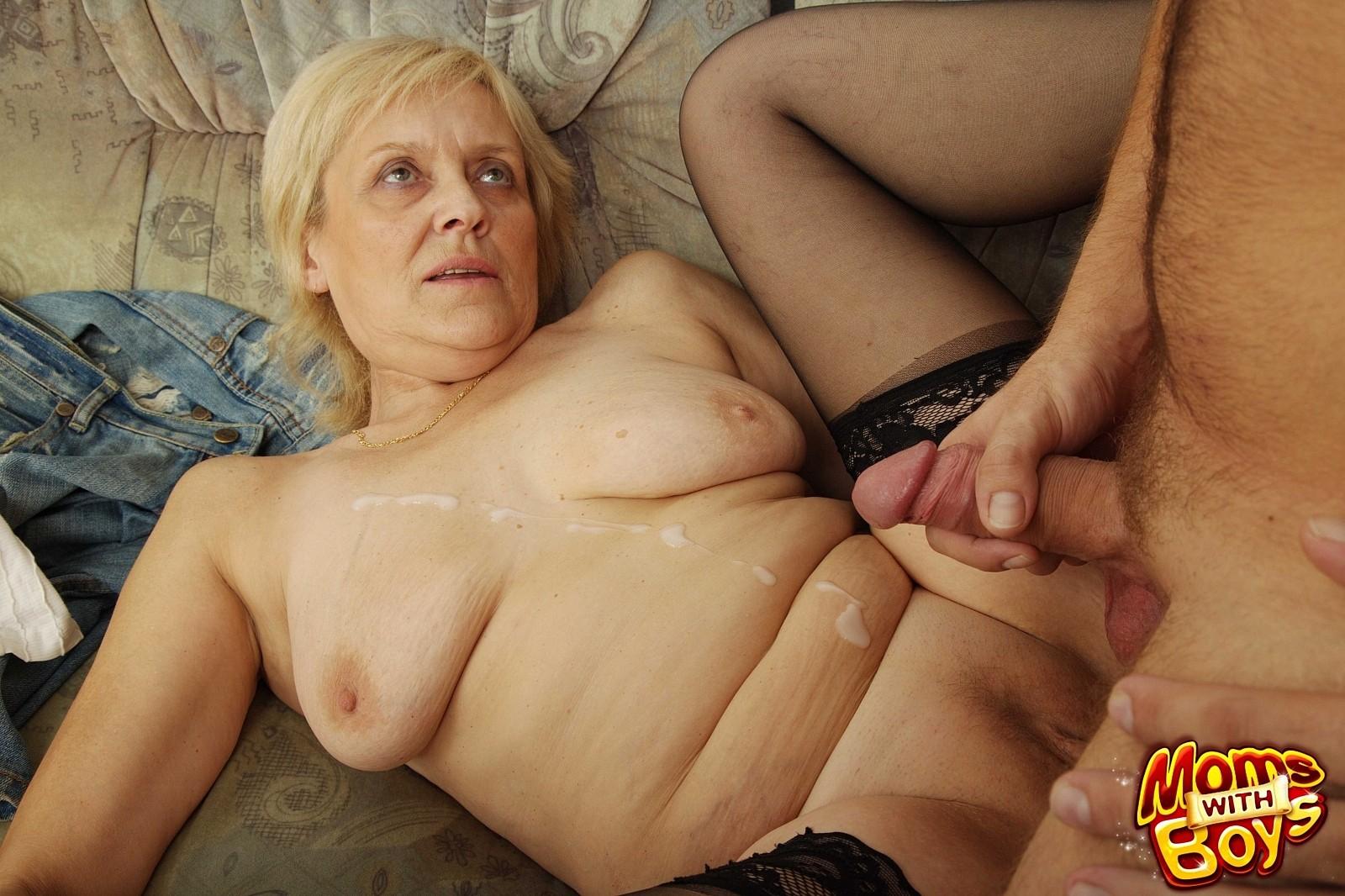фото секс с старая женщина - 1
